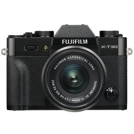 Fujifilm X-T30 Digital Camera with 15-45mm Lens - Black