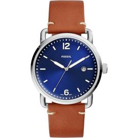 Fossil Men's Commuter Brown Leather Strap Watch
