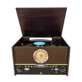 GPO Chesterton DAB Retro Music Centre - Dark Wood