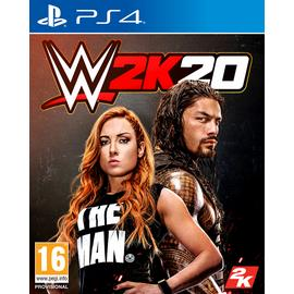 WWE 2K20 PS4 Pre-Order Game