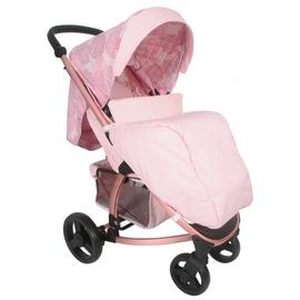 My Babiie Katie Piper MB200 Floral Pushchair - Pink