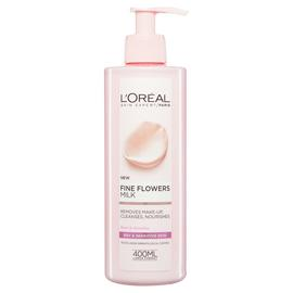 L'Oreal Paris Skin Fine Flower Cleansing Milk - 400ml