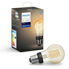 Philips Hue E27 White Smart Filament Bulb with Bluetooth