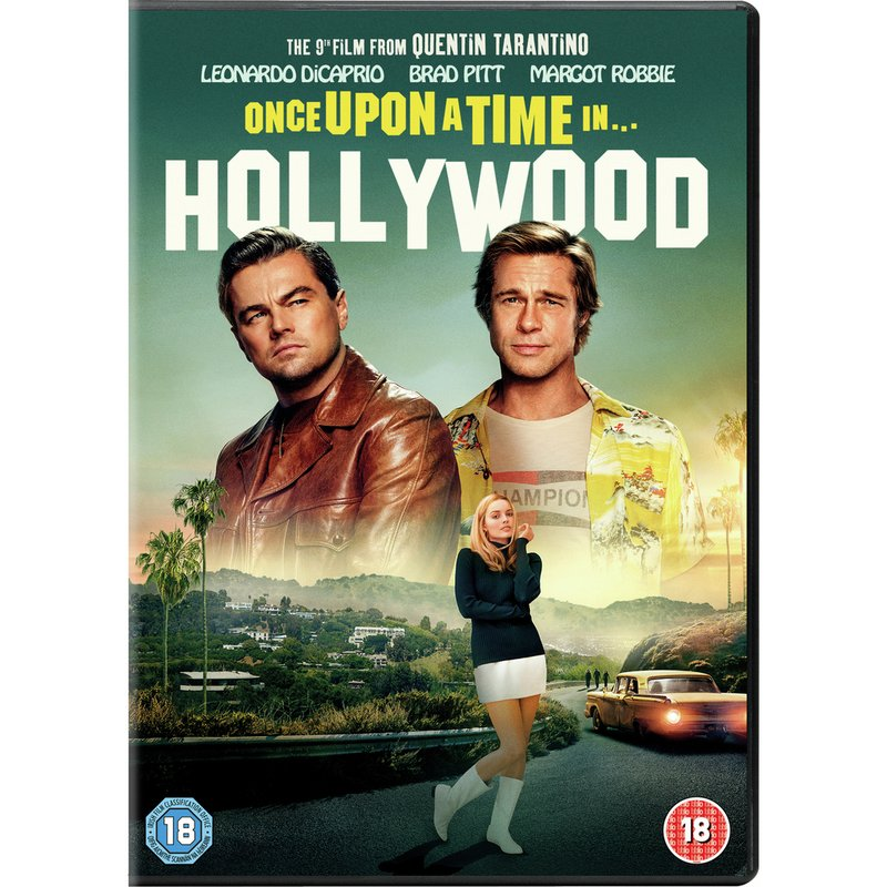 Once Upon a Time in... Hollywood DVD from Argos
