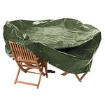 more details on HOME Heavy Duty Oval Patio Set Cover.