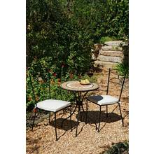 Verona 2 Seater Metal Bistro Set