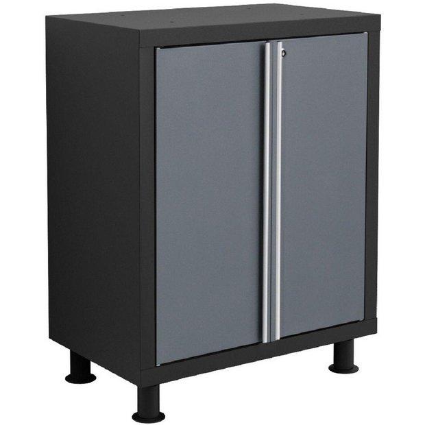 buy newage products bold series base cabinet grey at. Black Bedroom Furniture Sets. Home Design Ideas