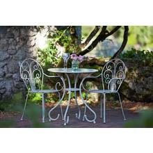 Argos Home Jasmin 2 Seater Metal Bistro Set with Cushions