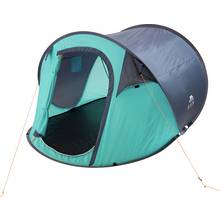 Trespass 3 Man 1 Room Festival Pop Up Tent