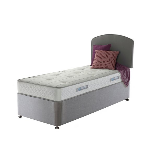 Buy sealy posturepedic firm ortho memory single divan bed at your online shop for Argos single divan beds