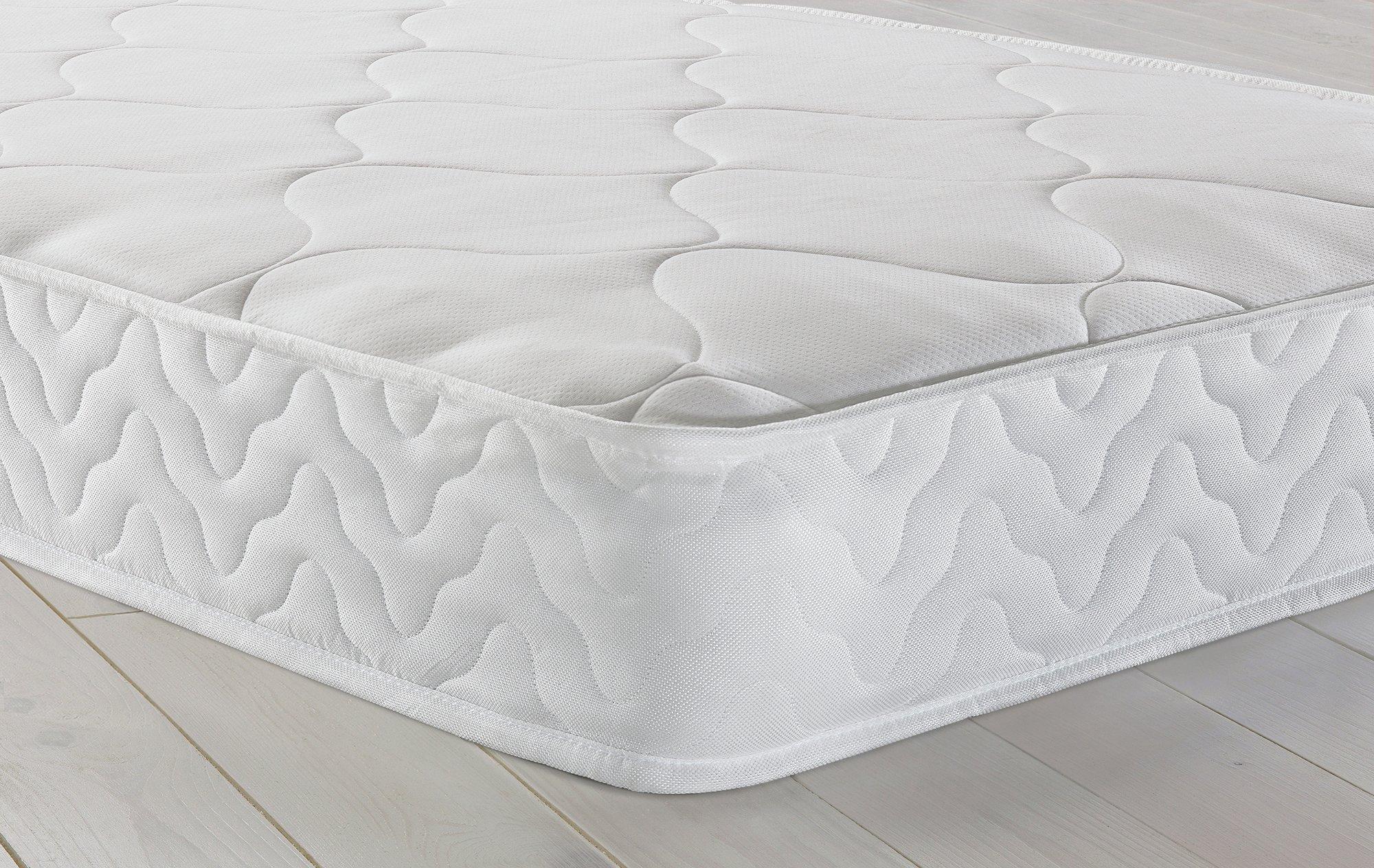 airsprung hollis open coil memory foam small double mattress