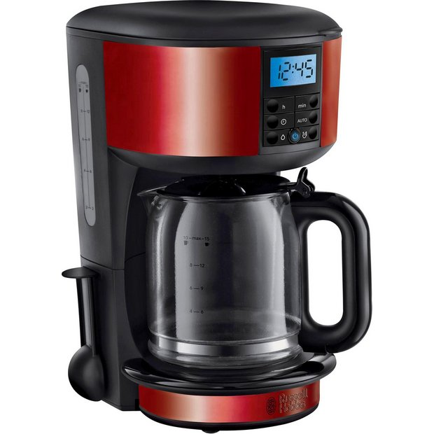 Coffee Maker On Clearance : Buy Russell Hobbs Legacy Metallic Red Filter Coffee Maker 20682 at Argos.co.uk - Your Online ...