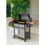 more details on Deluxe 4 Burner Gas BBQ with Cover.