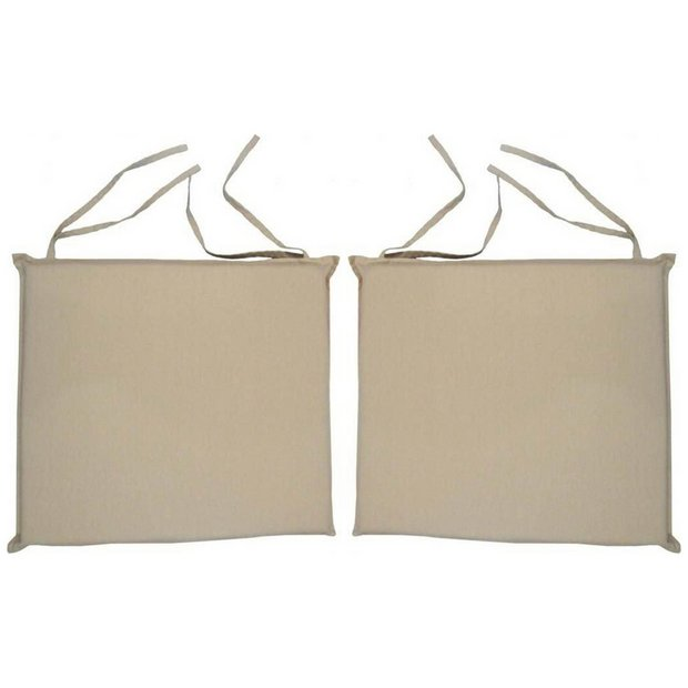 buy garden duo seat cushion cream at your. Black Bedroom Furniture Sets. Home Design Ideas