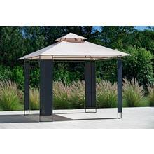 Collection Rattan Effect Square Garden Gazebo