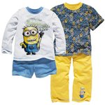 more details on Despicable Me Minions Boys' Yellow 2 Pack Pyjamas.
