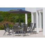 more details on Collection Malibu 8 Seater Steel Patio Set.