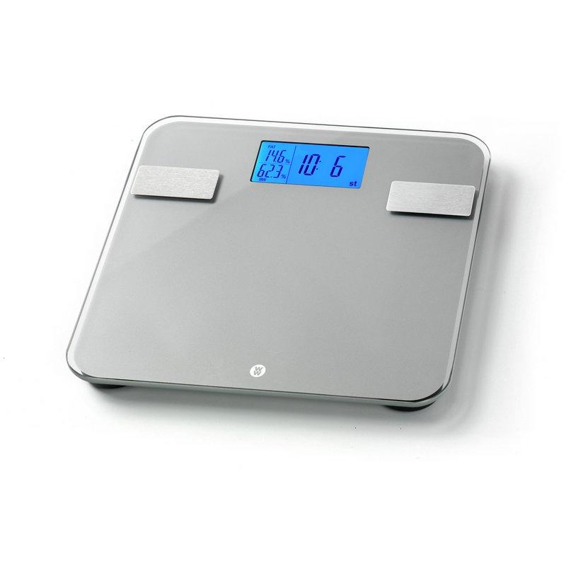 Weight Watchers Ultra Slim Body Weight Analysis Scale - Grey from Argos