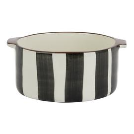 Habitat Elliot Small Round Oven-to-Table Dish - Stripes