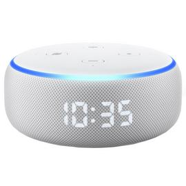 All-new Echo Dot (3rd generation) with Clock
