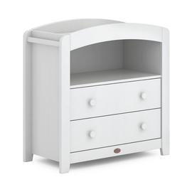 Boori Curved 2 Drawer Chest Changer - White