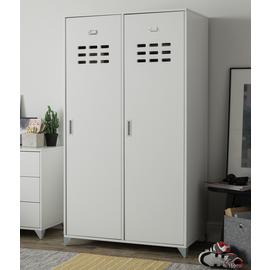 Argos Home Loft Living 2 Door Locker Wardrobe