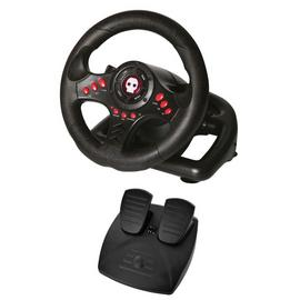 Numskull NS101 Racing Wheel & Pedals for PS4, Xbox One & PC