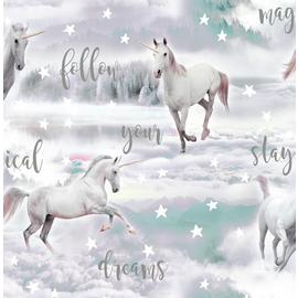 Fresco Unicorn Dreamland Wallpaper
