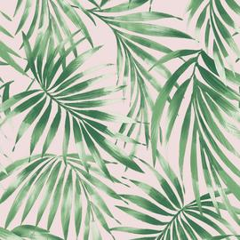 Superfresco Easy Elegant Leaves Blush Pink Wallpaper