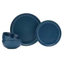 Argos Home Brights 12 Piece Dinner Set - Matte Navy