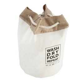 Argos Home Wash, Dry, Repeat Laundry Bag