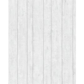Graham & Brown White Plank Wallpaper