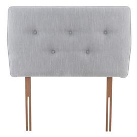 Argos Home Skandi Single Headboard - Light Grey