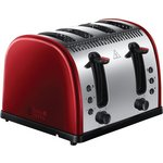 more details on Russell Hobbs 21301 Legacy 4 Slice Toaster - Red.