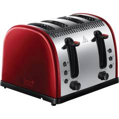 Russell Hobbs 21301 Legacy 4 Slice Toaster - Red