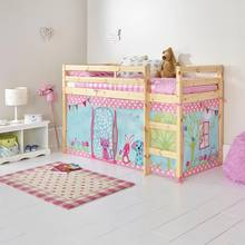 HOME Creature Friends Tent for Single Mid Sleeper Bed Frame