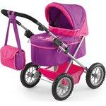 more details on Trendy Pink/Purple Dolls Pram.