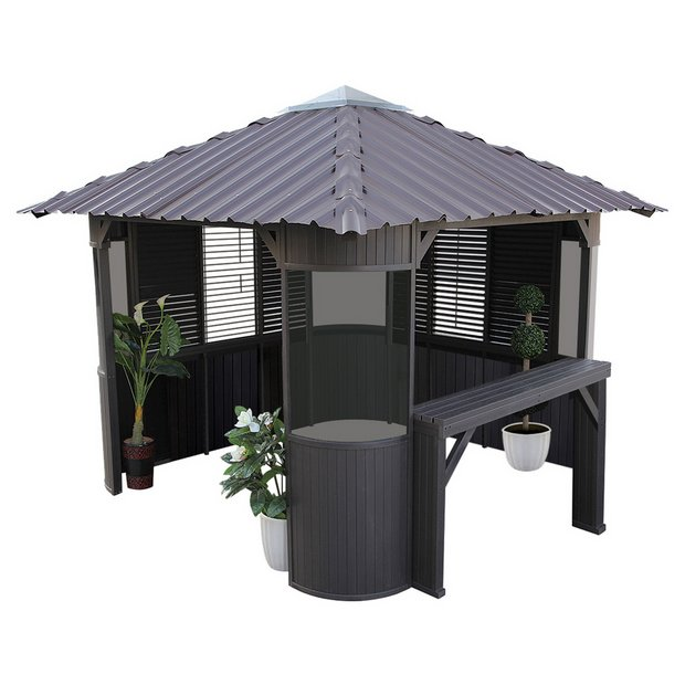 Buy Canadian Spa Frazer Synthetic Hot Tub Gazebo Enclosure