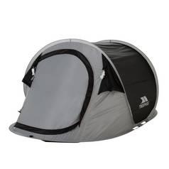 7452ad6a5be Trespass 2 Man 1 Room Festival Pop Up Tent Black