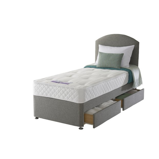 Buy Sealy Posturepedic Firm Ortho Single 2 Drw Divan Bed At Your Online Shop For