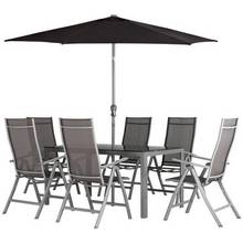 Collection Malibu 6 Seater Metal Patio Set