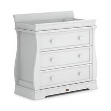 Boori Sleigh 3 Drawer Dresser - White