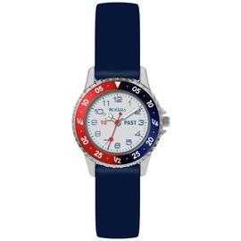 Tikkers Blue Silicone Strap Watch