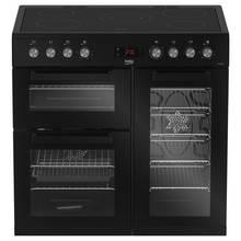Beko KDVC90K 90cm Electric Range Cooker - Black