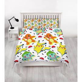 Pokemon Bedding Set - Double