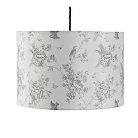 Argos Home Le Marais Printed Shade - White