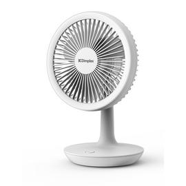 Dimplex Rechargeable White Desk Fan - 5 Inches