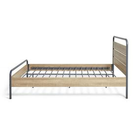 Argos Home Industrial Small Double Bed Frame - Grey