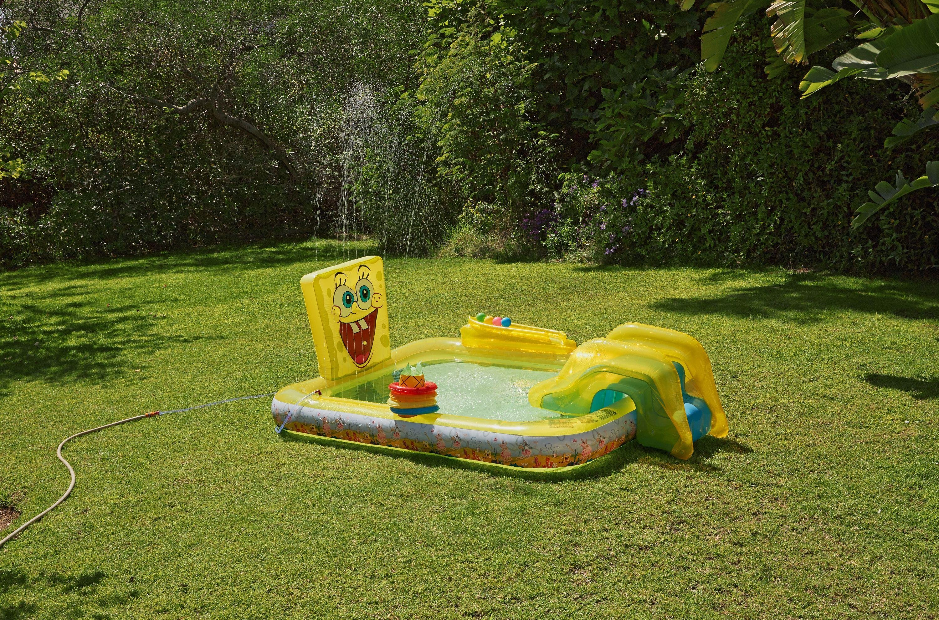 Buy ladders water slides at your online shop for Garden pool argos