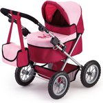 more details on Trendy Pink/Red Dolls Pram.